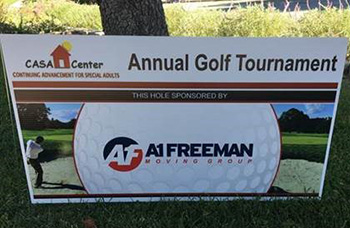 A-1 Freeman - CASA Center Golf Tournament