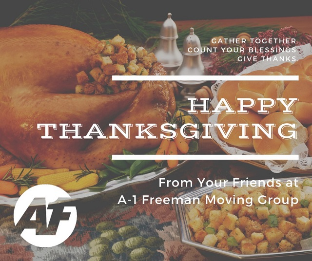 Happy Thanksgiving from A-1 Freeman