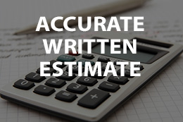 accurate written estimate