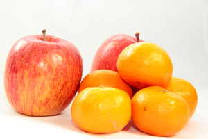 Comparing Apples and Oranges