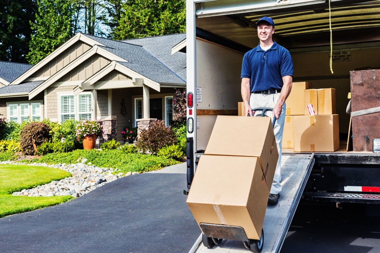professional moving movers boxes truck - How To Hire A Moving Company