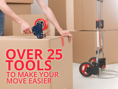 Moving tools, dolly cart, tape dispenser, moving boxes, moving supplies, movers supplies