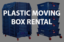 Plastic Moving Box Rental