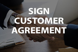 Sign Customer Agreement